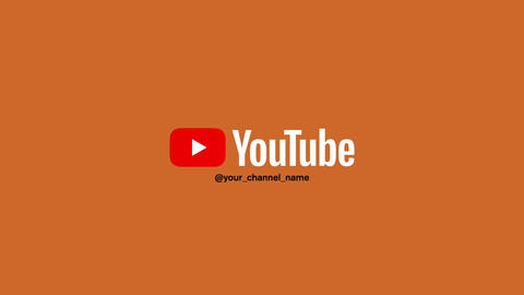 YouTube short simple intro Apple Motion Template