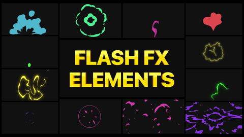 Flash FX Elements Pack 03 After Effects Template
