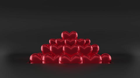 Heart Logo Reveal After Effects Template