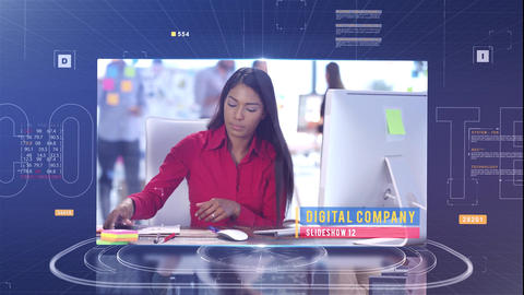 Digital Company After Effects Template