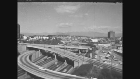 Los Angeles, USA 1979, Los angeles highway 3 Live Action