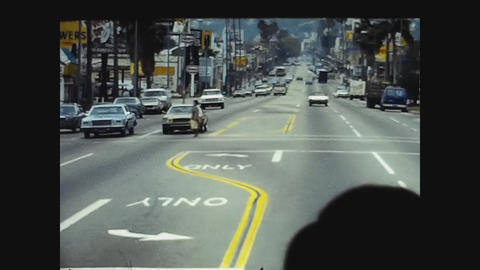 Los Angeles, USA 1979, Los Angeles street view 22 Live Action
