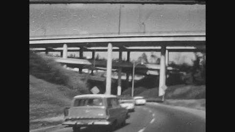 Los Angeles, USA 1979, Los angeles highway Live Action