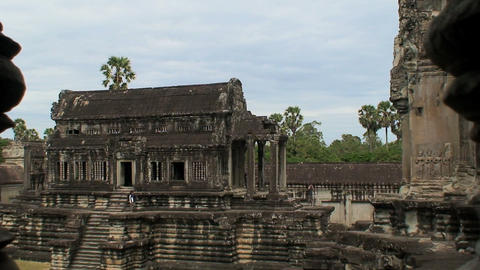 angkor wat temple Stock Video Footage
