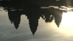 Ankor wat reflextion Stock Video Footage