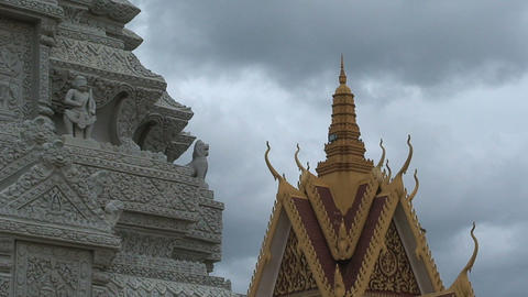 temple 02 2 Stock Video Footage