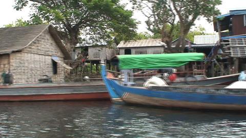watervillage Stock Video Footage