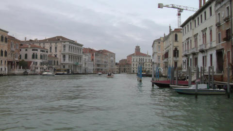canal grande 11 Stock Video Footage