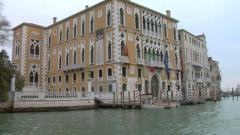 canal grande 13 Stock Video Footage