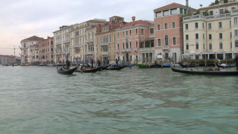 canal grande 15 Stock Video Footage