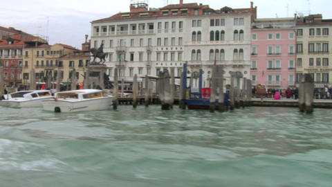 riva schiavoni 03 Stock Video Footage