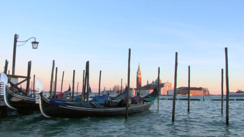 venice gondola 05 Footage