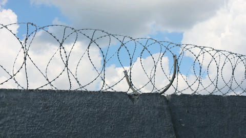 Sky Behind Barbed Wire 1 Animation