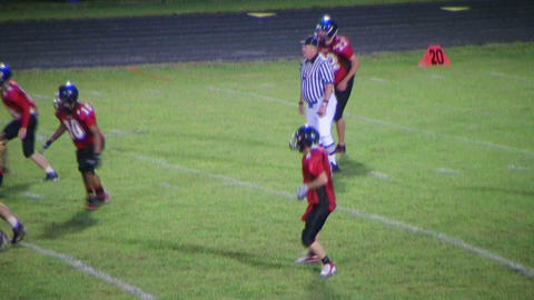Player Fumbles Football Stock Video Footage