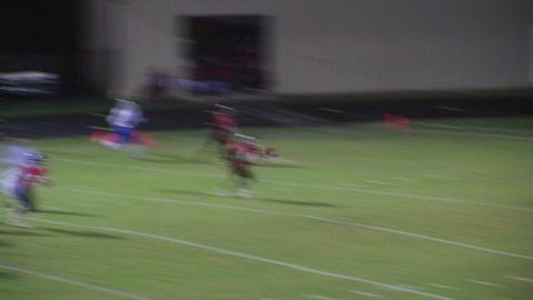 Quarterback Touchdown Pass 03 Stock Video Footage