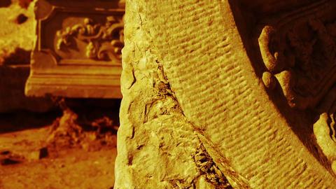 china beijing yuanmingyuan history legacy wreckage,Broken... Stock Video Footage