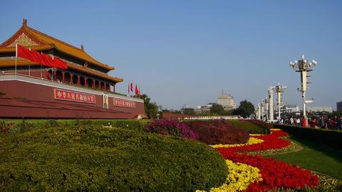 Beijing Tiananmen,China Political center Footage