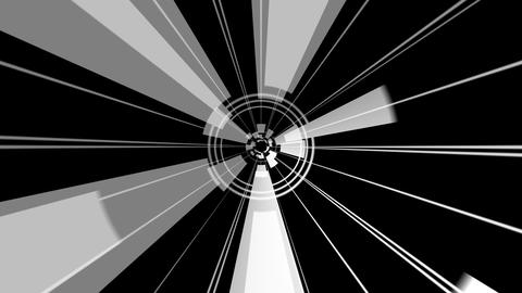 circle rays rotating with alpha Animation