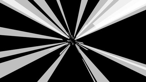 radial shape tunnel with alpha Stock Video Footage