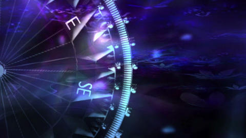Compass 236 Stock Video Footage