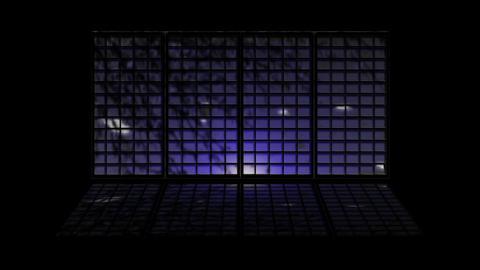 Japanese Window 2521 Stock Video Footage