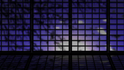 Japanese Window 2523, Stock Animation