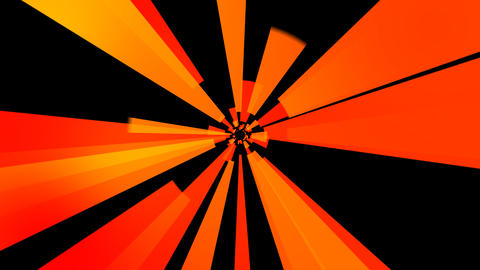 orange solid rays with alpha Animation