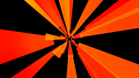 orange solid rays with alpha Stock Video Footage
