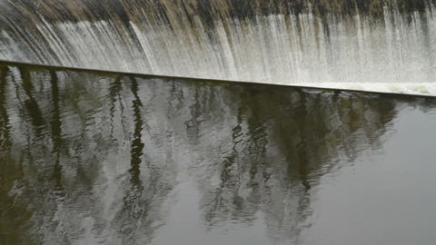 water dam Stock Video Footage
