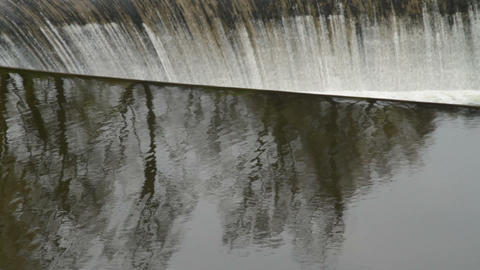 Water Dam stock footage
