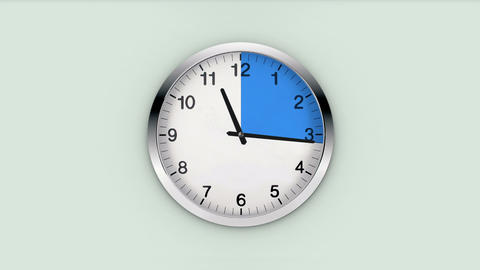 clock time interval Animation