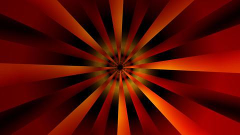 sunrise ray tunnel with alpha Animation