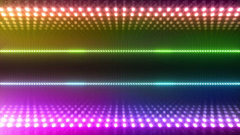 LED Wall 2 W Db O 2g HD Stock Video Footage