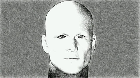 man sketch Animation