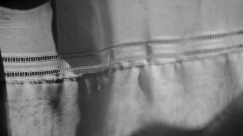 curtain shadow light Stock Video Footage