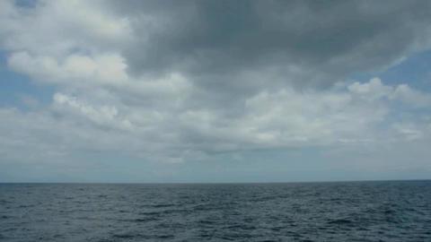 sea sky horizon Stock Video Footage