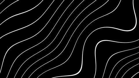 turbulence wave lines Animation