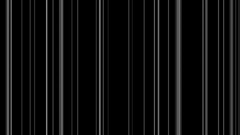 bar code lines with alpha Stock Video Footage