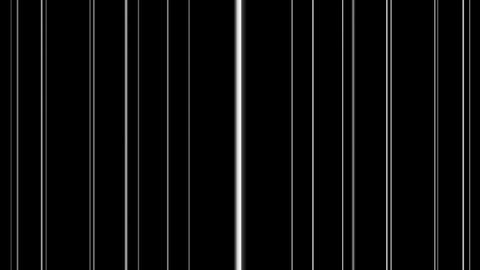 bar code lines with alpha Animation