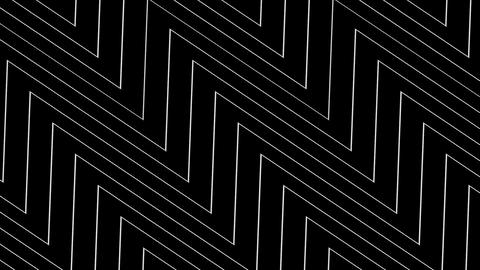 triangle wave line with alpha Stock Video Footage