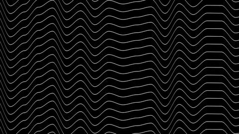 noise wave stripes with alpha Stock Video Footage