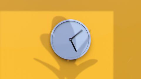 Clock Timelapse Animation Animation