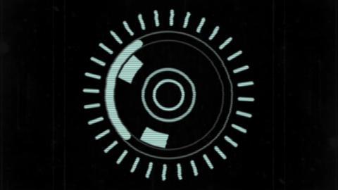 The Ring shape logo Apple Motion Template