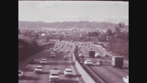 Los Angeles, USA 1979, Los angeles highway 2 Live Action