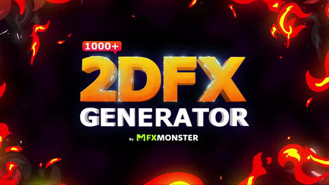 2DFX Generator Pack 1000+ Elements | After Effects After Effects Template