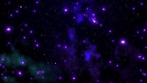 Glittering cosmic background01 Animation