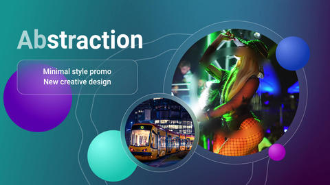 Glassmorphism Promotion After Effects Template