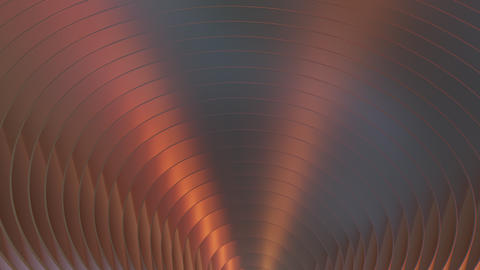 Stylish 3D Abstract Backdrop With Wavy Reflection Animation