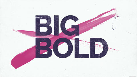 Big Bold Stomp Titles After Effects Template