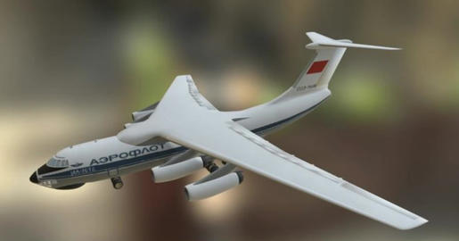 Ilyushin il 76 A 3D Model
